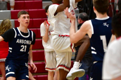 CIAC Boys Basketball; Wolcott JV vs. Ansonia JV - Photo # (92)