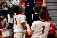 CIAC Boys Basketball; Wolcott JV vs. Ansonia JV - Photo # (94)