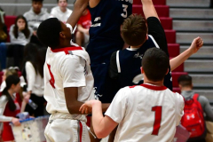 CIAC Boys Basketball; Wolcott JV vs. Ansonia JV - Photo # (95)