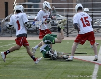 CIAC Boys Lacrosse; Wolcott 11 vs. Holy Cross 12 - Photo # 132