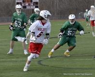 CIAC Boys Lacrosse; Wolcott 11 vs. Holy Cross 12 - Photo # 246