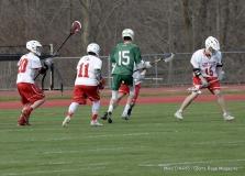 CIAC Boys Lacrosse; Wolcott 11 vs. Holy Cross 12 - Photo # 286