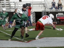 CIAC Boys Lacrosse; Wolcott 11 vs. Holy Cross 12 - Photo # 327