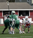 CIAC Boys Lacrosse; Wolcott 11 vs. Holy Cross 12 - Photo # 339
