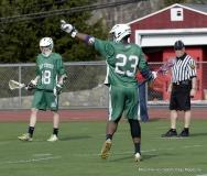 CIAC Boys Lacrosse; Wolcott 11 vs. Holy Cross 12 - Photo # 361