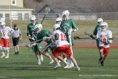CIAC Boys Lacrosse; Wolcott 11 vs. Holy Cross 12 - Photo # 407