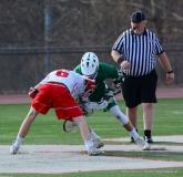 CIAC Boys Lacrosse; Wolcott 11 vs. Holy Cross 12 - Photo # 419