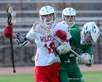 CIAC Boys Lacrosse; Wolcott 11 vs. Holy Cross 12 - Photo # 424