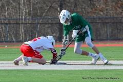 CIAC Boys Lacrosse; Wolcott 11 vs. Holy Cross 12 - Photo # 530