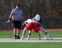 CIAC Boys Lacrosse; Wolcott 11 vs. Holy Cross 12 - Photo # 576