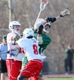 CIAC Boys Lacrosse; Wolcott 11 vs. Holy Cross 12 - Photo # 748