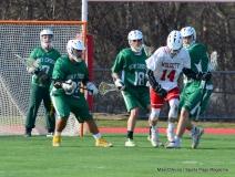 CIAC Boys Lacrosse; Wolcott 11 vs. Holy Cross 12 - Photo # 816