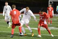 CIAC Boys Soccer Class LL State Tournament SF's - Farmington 3 vs. Fairfield Prep 0 - Photo (32)