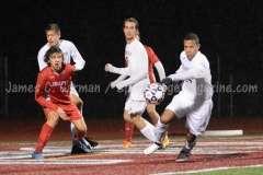 CIAC Boys Soccer Class LL State Tournament SF's - Farmington 3 vs. Fairfield Prep 0 - Photo (67)