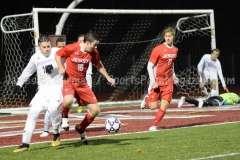 CIAC Boys Soccer Class LL State Tournament SF's - Farmington 3 vs. Fairfield Prep 0 - Photo (70)