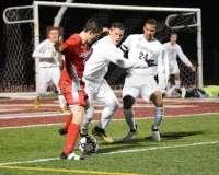 CIAC Boys Soccer Class LL State Tournament SF's - Farmington 3 vs. Fairfield Prep 0 - Photo (72)