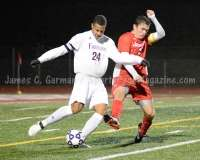 CIAC Boys Soccer Class LL State Tournament SF's - Farmington 3 vs. Fairfield Prep 0 - Photo (84)
