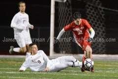 CIAC Boys Soccer Class LL State Tournament SF's - Farmington 3 vs. Fairfield Prep 0 - Photo (87)