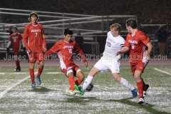 CIAC Boys Soccer Class LL State Tournament SF's - Farmington 3 vs. Fairfield Prep 0 - Photo (9)