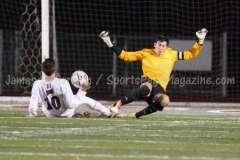 CIAC Boys Soccer Class LL State Tournament SF's - Farmington 3 vs. Fairfield Prep 0 - Photo (92)