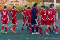 CIAC Boys Soccer; Wolcott 1 vs. Crosby 2 - Photo # (196)