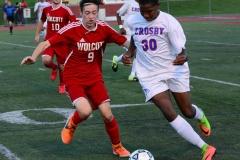 CIAC Boys Soccer; Wolcott 1 vs. Crosby 2 - Photo # (280)