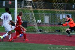 CIAC Boys Soccer; Wolcott 1 vs. Crosby 2 - Photo # (330)