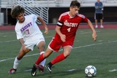 CIAC Boys Soccer; Wolcott 1 vs. Crosby 2 - Photo # (463)