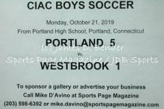 Gallery CIAC BSOC: Portland 5 vs. Westbrook 1