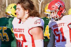 Gallery CIAC Football; Holy Cross vs. Wolcott - Photo # 3133