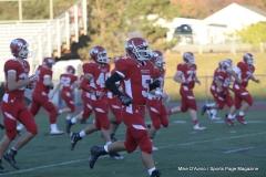CIAC Football; Wolcott vs. Woodland - Pregame - Photo # (140)