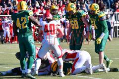 Gallery CIAC Football; Holy Cross vs. Wolcott - Photo # 1365