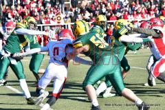Gallery CIAC Football; Holy Cross vs. Wolcott - Photo # 2602
