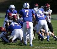 CIAC Football; Nonnewaug 0 vs. Valley Regional - Old Lyme 48 Photo # (142)