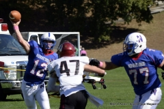 CIAC Football; Nonnewaug 0 vs. Valley Regional - Old Lyme 48 Photo # (148)
