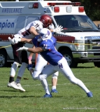 CIAC Football; Nonnewaug 0 vs. Valley Regional - Old Lyme 48 Photo # (160)
