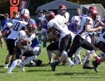 CIAC Football; Nonnewaug 0 vs. Valley Regional - Old Lyme 48 Photo # (202)