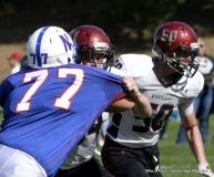 CIAC Football; Nonnewaug 0 vs. Valley Regional - Old Lyme 48 Photo # (215)
