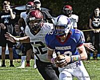 CIAC Football; Nonnewaug 0 vs. Valley Regional - Old Lyme 48 Photo # (276)