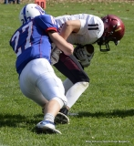 CIAC Football; Nonnewaug 0 vs. Valley Regional - Old Lyme 48 Photo # (329)
