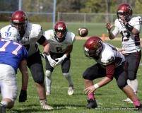 CIAC Football; Nonnewaug 0 vs. Valley Regional - Old Lyme 48 Photo # (334)