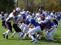 CIAC Football; Nonnewaug 0 vs. Valley Regional - Old Lyme 48 Photo # (45)