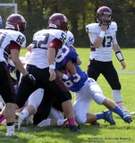 CIAC Football; Nonnewaug 0 vs. Valley Regional - Old Lyme 48 Photo # (75)