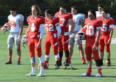 CIAC Football; Wolcott Red vs. White Spring Game - Photo # (1)