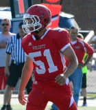 CIAC Football; Wolcott Red vs. White Spring Game - Photo # (140)
