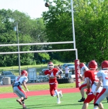 CIAC Football; Wolcott Red vs. White Spring Game - Photo # (148)