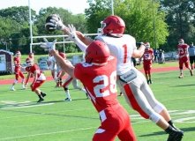 CIAC Football; Wolcott Red vs. White Spring Game - Photo # (149)
