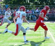 CIAC Football; Wolcott Red vs. White Spring Game - Photo # (187)