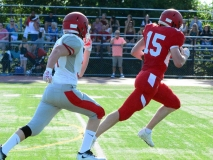 CIAC Football; Wolcott Red vs. White Spring Game - Photo # (188)