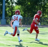 CIAC Football; Wolcott Red vs. White Spring Game - Photo # (189)